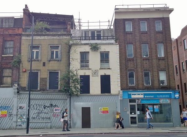 Norton Folgate Demolition